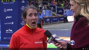 Laura Thweatt After Marathon Debut