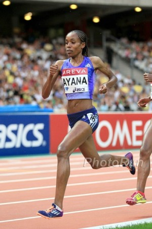 Ayana lost this race in Paris, but she was incredible in 2015