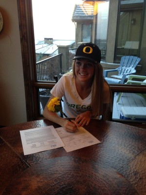 Rainsberger will be headed to Eugene in 2016 (courtesy Katie Rainsberger)