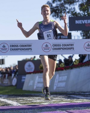 Hunter crushed the competition to earn the national title in San Diego