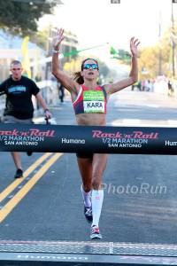 Kara Gouher Wins 2015 Rock N Roll San Antonio Marathon