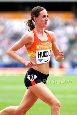 5,000 meters was just one of the many distances at which Huddle excelled in 2015