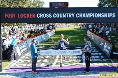 Hunter made it look easy in his Foot Locker win in December