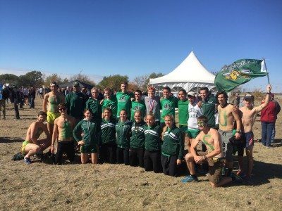 The BHSU men and women after the South Central Regional meet