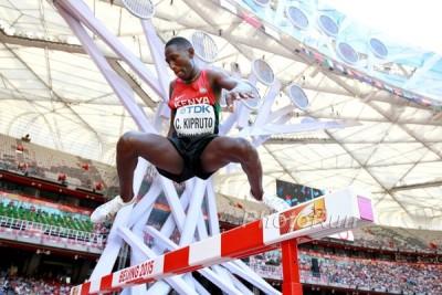 Kipruto at Worlds last year