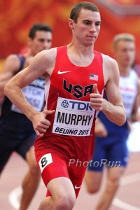 Murphy's 2015 season went all the way to the semifinals of the World Championships