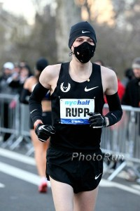 Rupp's half marathon debut in 2011 may most be remembered for his mask but it went very well