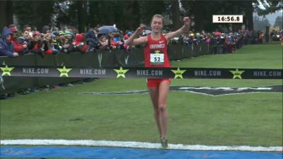 Katie Rainsberger wins