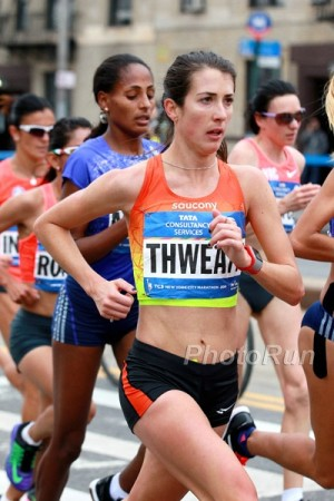 First time's the charm: Thweatt shined in her marathon debut in NYC