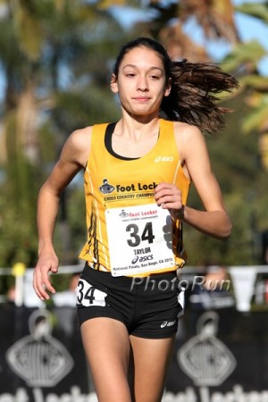 Werner, shown here in 2013, will be hoping third time's the charm at Foot Locker finals.