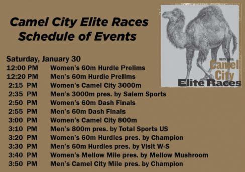 2016 schedule camel