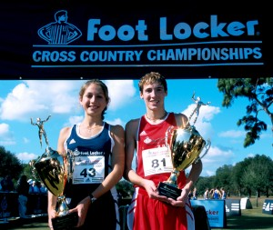Sara Bei and Dathan Ritzenhein 2000 FootLocker HS Cross Country Championships