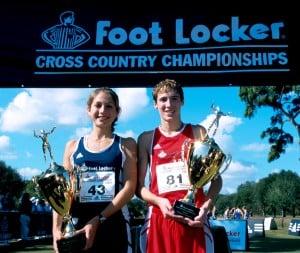 Sara Bei and Dathan Ritzenhein 2000 FootLocker HS Cross Country Championships