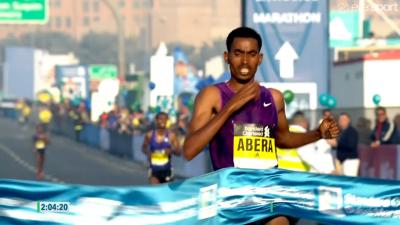 Tesfaye Abera wins Dubai