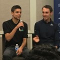 Matthew Centrowitz and Nick Willis on Thursday