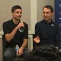 Matthew Centrowitz and Nick Willis on Thursday