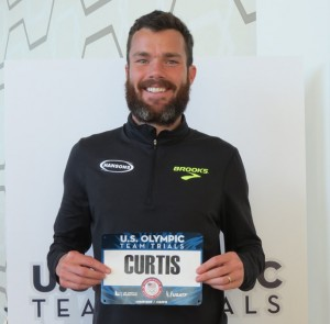 PHOTO: Bobby Curtis in advance of the 2016 USA Olympic Trials Marathon in Los Angeles (photo by Jane Monti for Race Results Weekly)