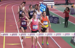 Drew Hunter in the White on the Rail With His 2nd Straight Sub 4