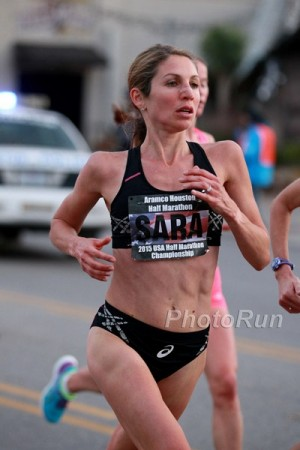 Hall at the 2015 Houston Half Marathon