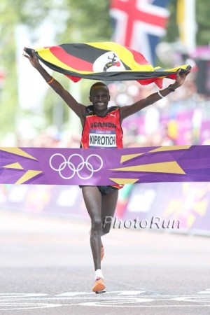 Kiprotich used a third place in Tokyo as a springboard to Olympic glory four years ago