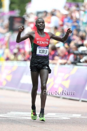 Kirui ran a tremendous race to take second in London in 2012, but his career hasn't been the same since