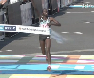 Kiprop got the win, but was it enough to earn any of the $500,000 AWMM jackpot?