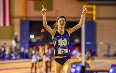 Seidel at NCAA indoors in 2016. Photo Gallery Here https://www.letsrun.com/photos/2016/ncaa-indoor-track-day1/index.php