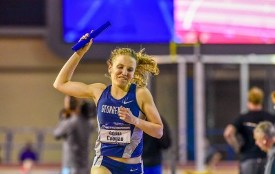 Coogan anchored the Hoyas to the DMR title in March and will look to close out her NCAA career with her first individual title