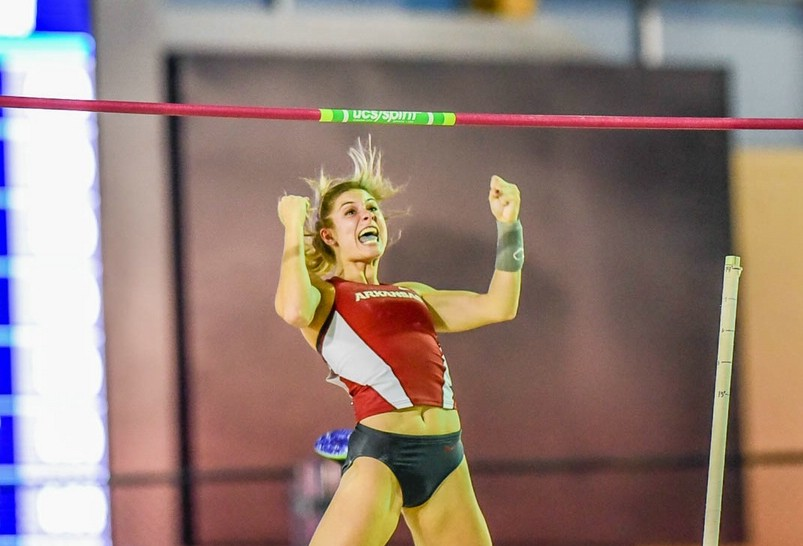 The Weeks know how to pole vault