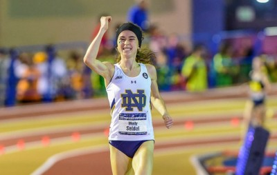 Seidel's last 3000 was a dominant win at NCAAs