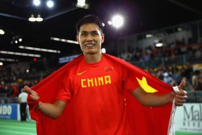 "Bin Dong (Photo by Ian Walton/Getty Images for IAAF)"""
