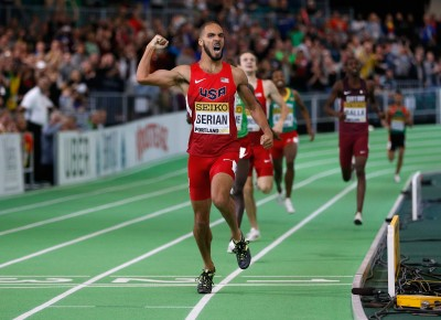"""Boris Berian Gets Gold (Photo by Christian Petersen/Getty Images for IAAF)"""""""