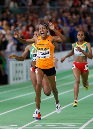 Victory is sweet (Photo by Christian Petersen/Getty Images for IAAF)""