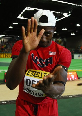 """Marcus Dendy (Photo by Ian Walton/Getty Images for IAAF)"""""""