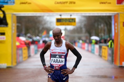Mo Farah Ponders His Bronze © Getty Images for IAAF