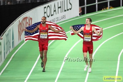 Berian and Sowinski will be on the same track together for the first time since their medals at World Indoors