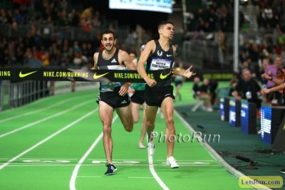Centro and Andrews battled all the way to the line at USA Indoors this year