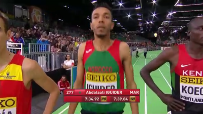 We were expecting to see this guy in the 3k. If he doesn't double back for 1500, Centrowitz benefits greatly.