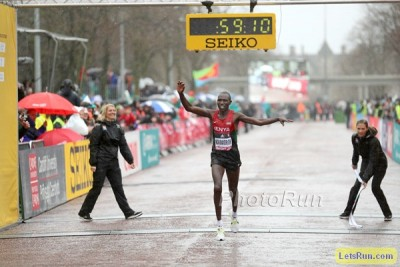 Kamworor's victory in Cardiff was legendary, but has he closed the gap to Farah on the track?
