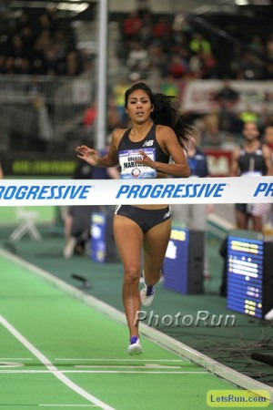 Can Martinez pick up a World Indoor medal to go with her World Outdoor bronze from 2013?