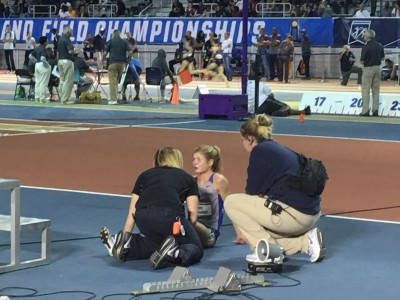 Ostranders last appearance at NCAAs ended with her dropping out of the 5k indoors in 2016