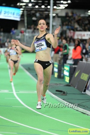 Rowbury dispatched the U.S. 3k field with ease last week but she faces a much tougher task at Worlds