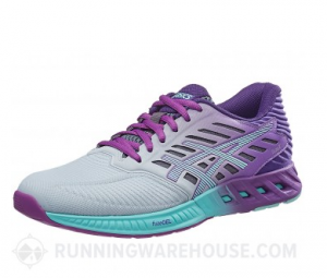 Kate Chose the Asics FuseX in Silver/Mint/Orchid