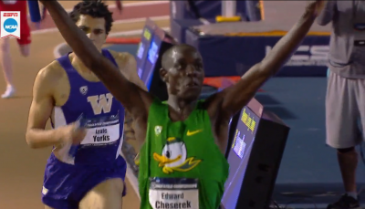 Edward Cheserek Completes Double With DMR