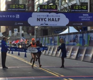 The lean at the NYC half