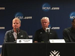 The Arkansas coaches