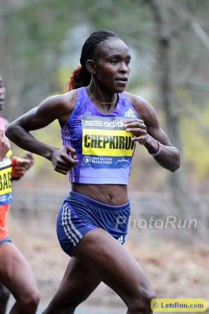 Chepkirui was only ninth last year but should be among the top contenders on Monday