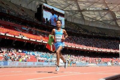 Ghebreslassie earned a surprise gold in Beijing last year but won't sneak up on anyone in Rio