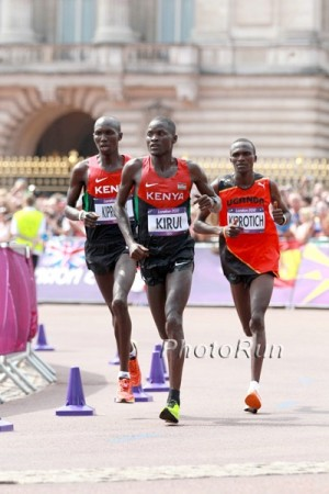 Kipsang (above left) parlayed a 2012 London Marathon victory into an Olympic berth and eventual bronze medal