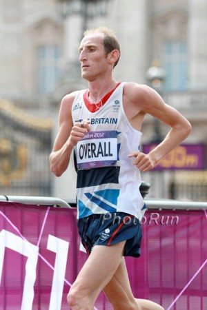 Scott Overall is in good position to earn another Olympic berth but must race well on Sunday